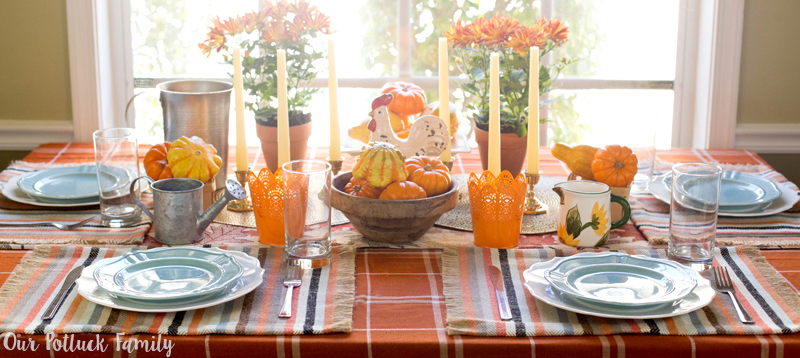 Fall Home Decorating Farmhouse Table