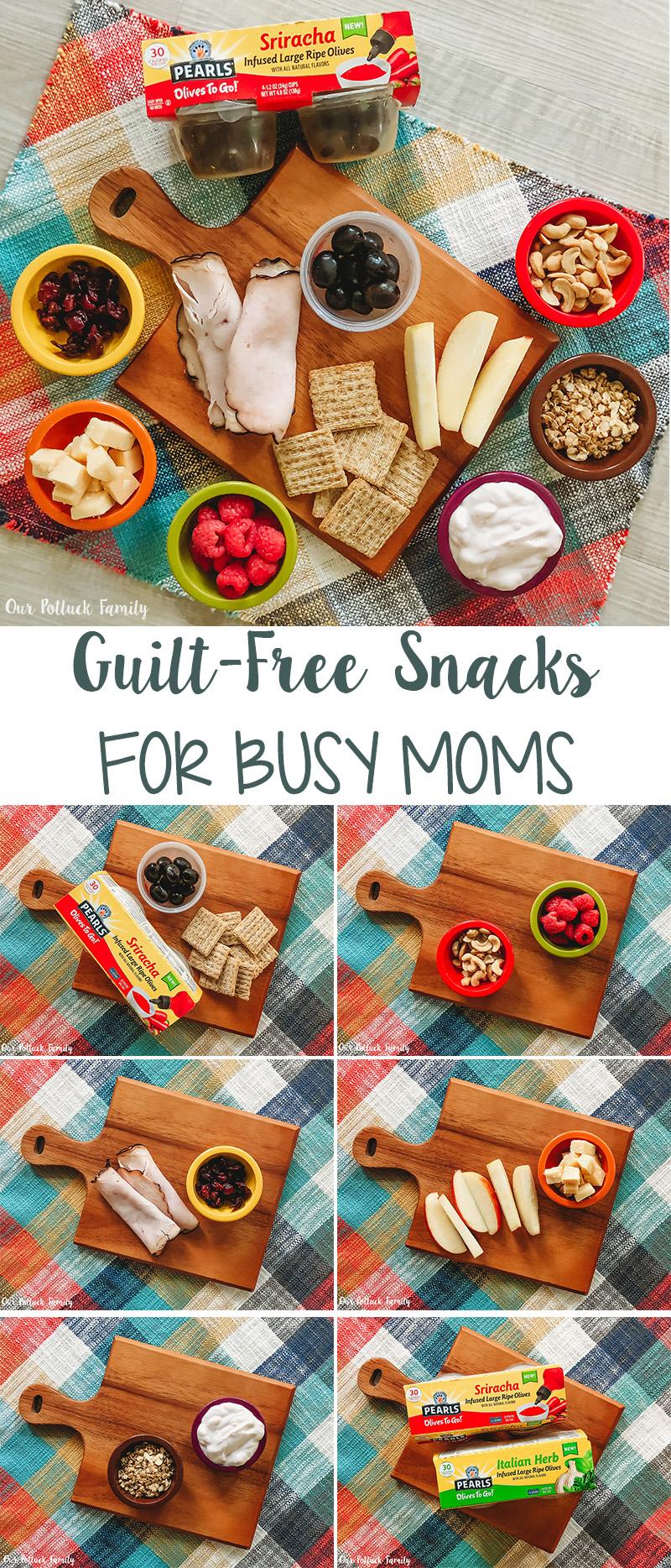 Guilt-Free Snacks for Busy Moms
