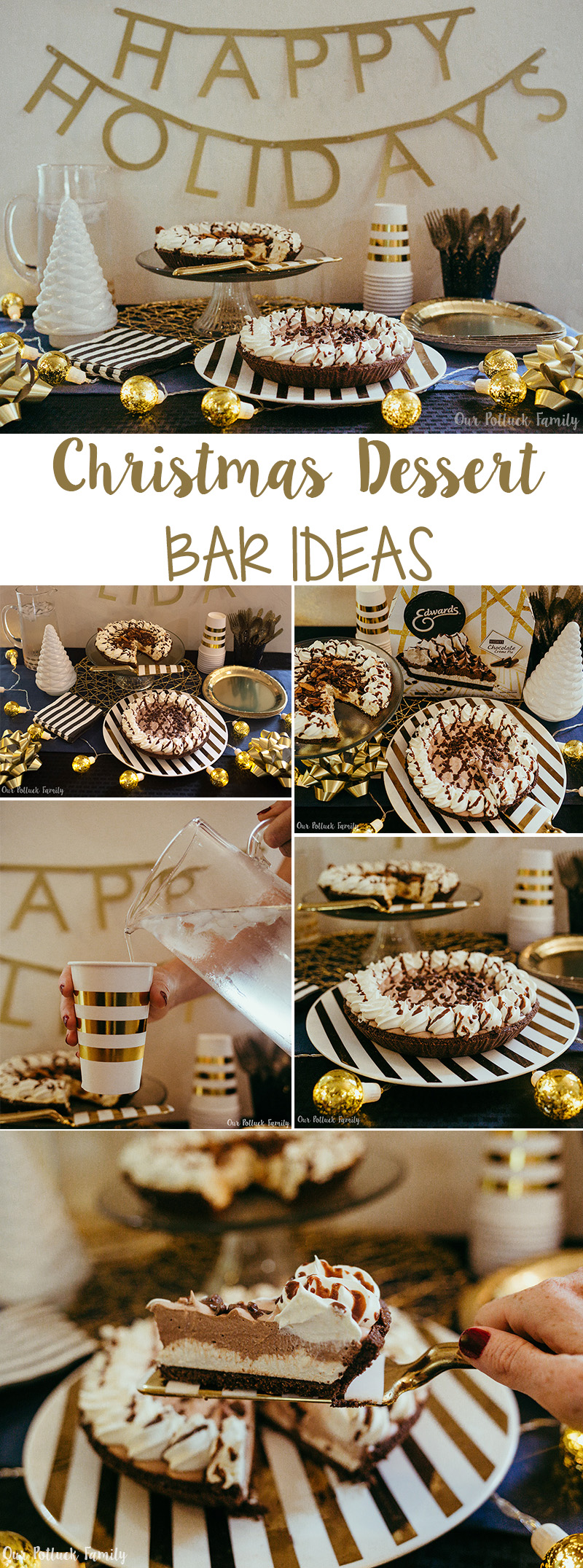 Christmas Dessert Bar Ideas