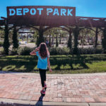 Depot Park in Gainesville, Florida