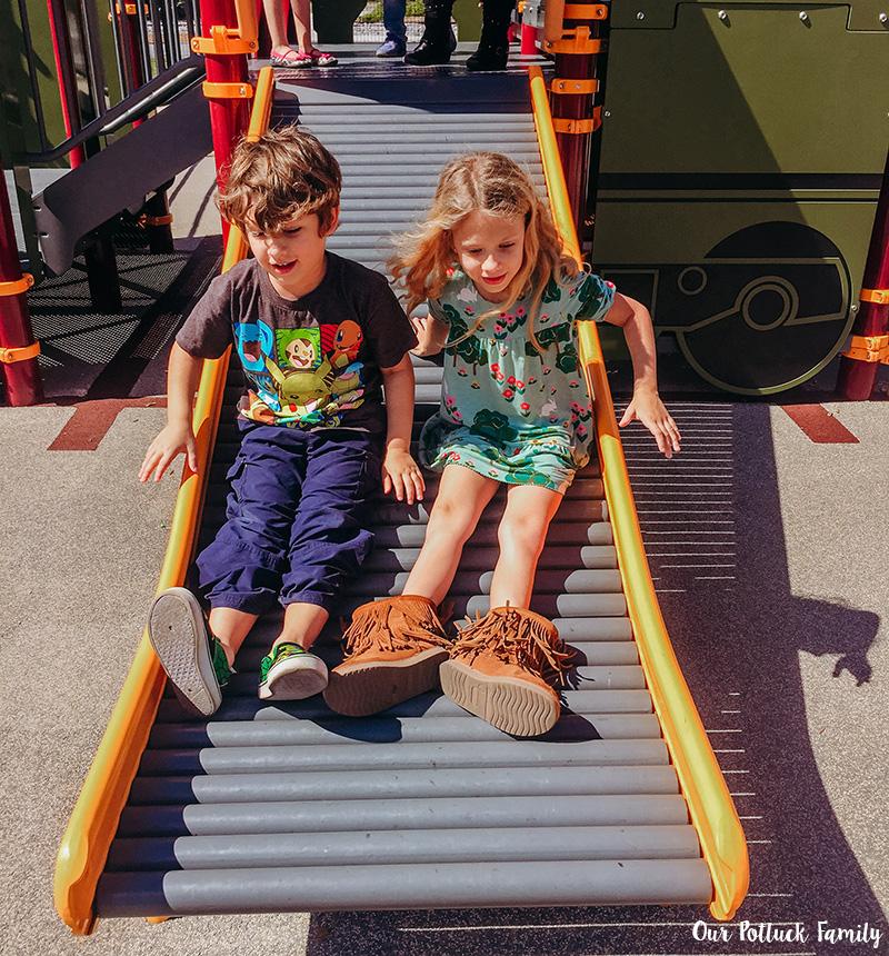 Depot Park Slide