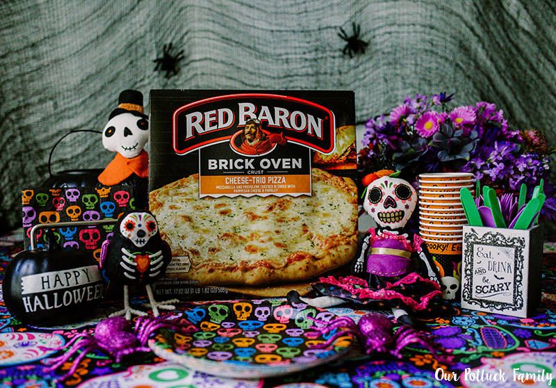 Halloween Pizza Party Red Baron