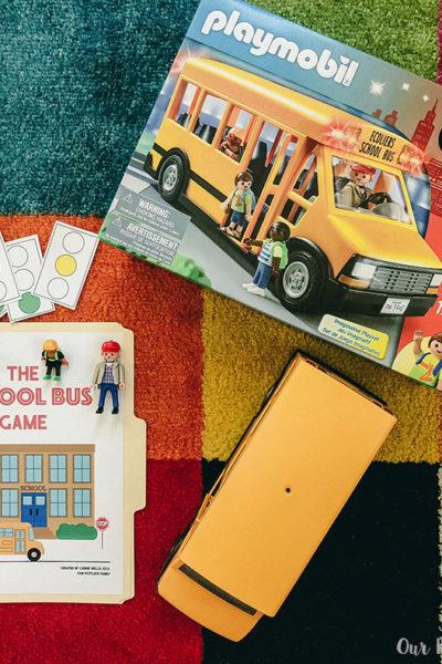 Printable School Bus Game