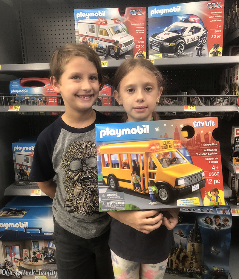 Playmobil at Walmart