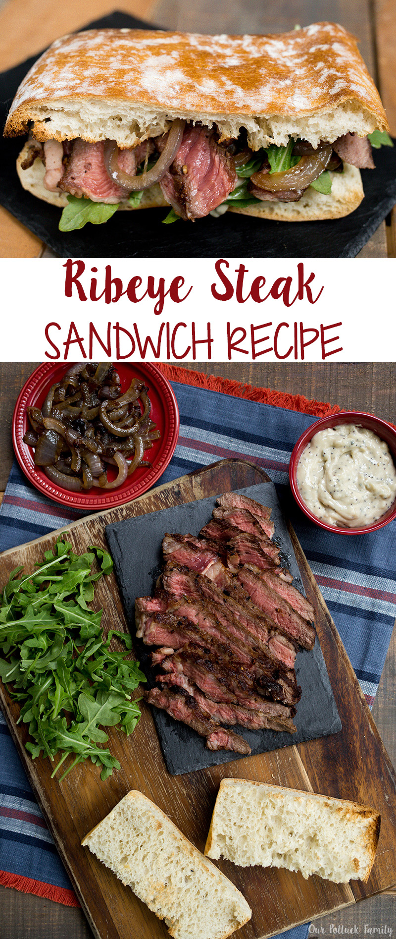 Ribeye Steak Sandwich Recipe