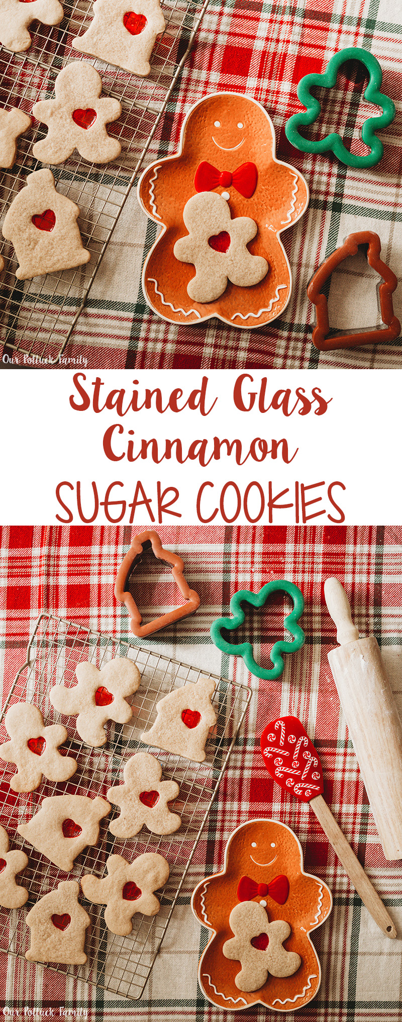 Stained Glass Cinnamon Sugar Cookies