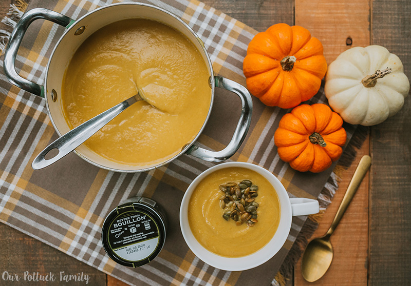 Vegan Curry Pumpkin Soup recipe