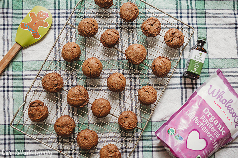 Gluten-Free Spice Cookies baked