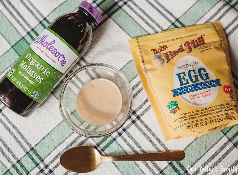 Gluten-Free Spice Cookies egg