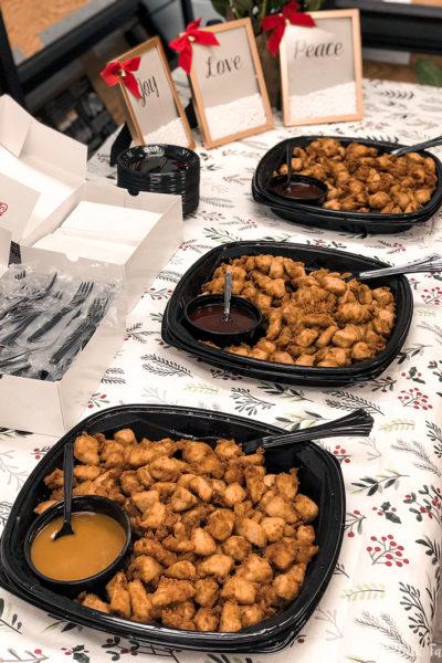 Teacher Appreciation Lunch chicken