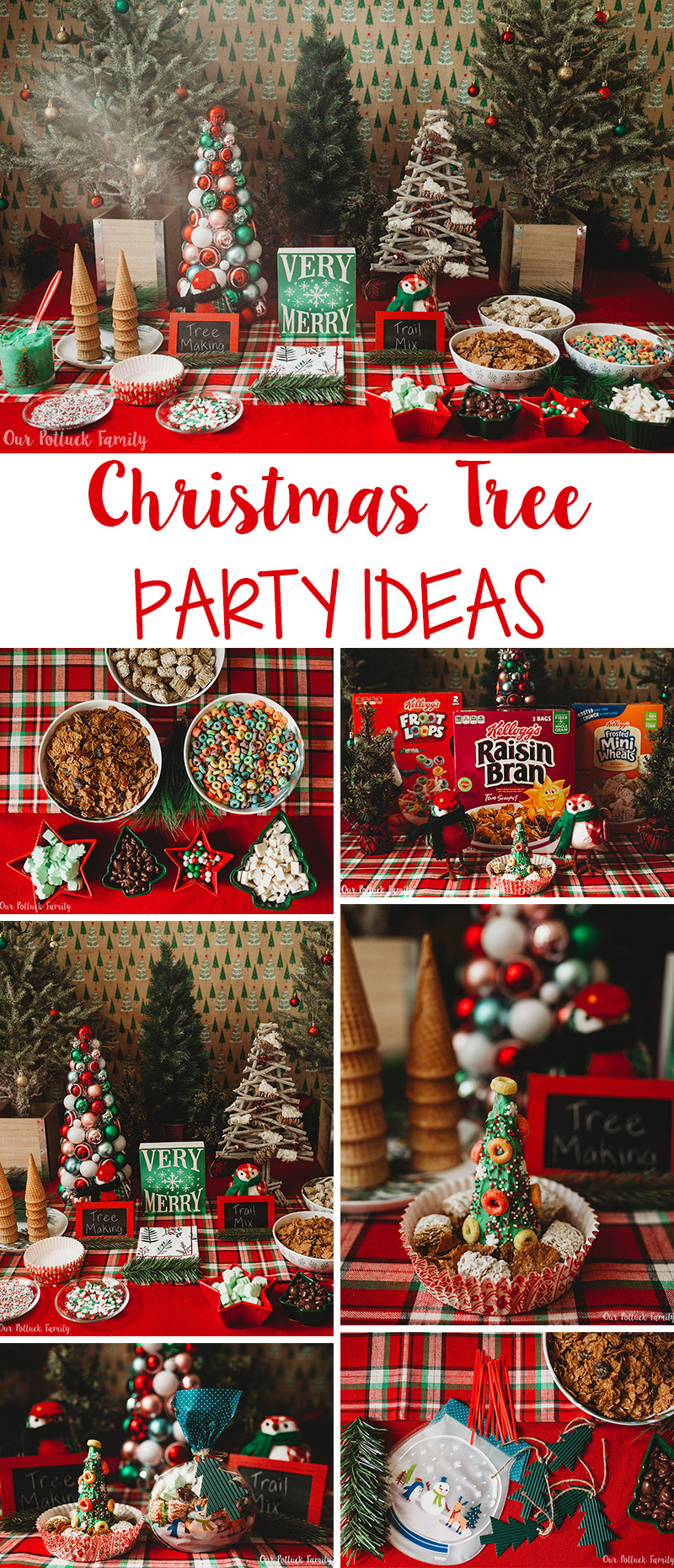 Christmas Tree Party Ideas Our Potluck Family