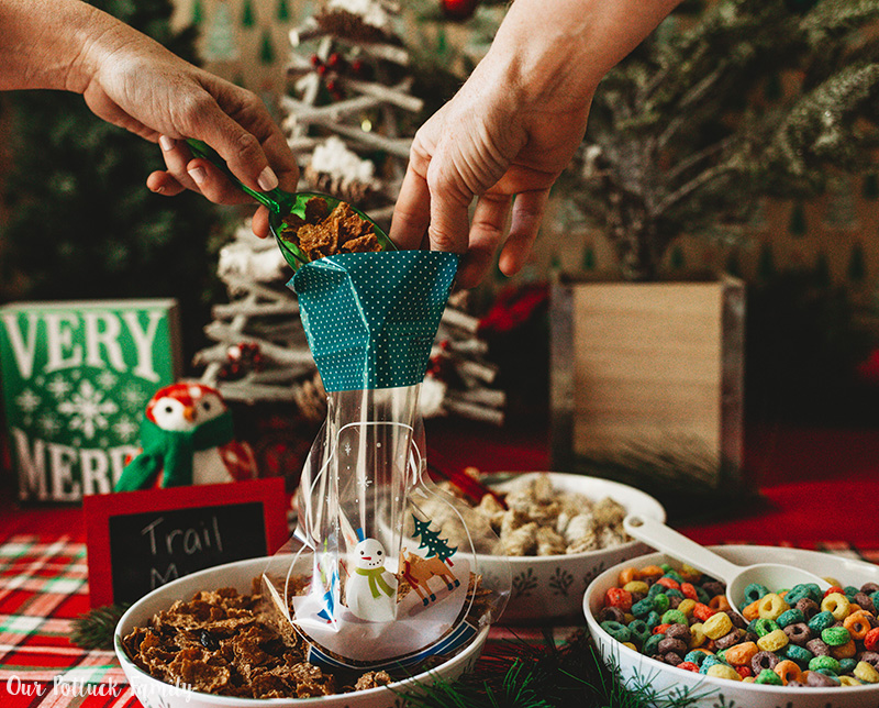 Christmas Tree Party Trail Mix