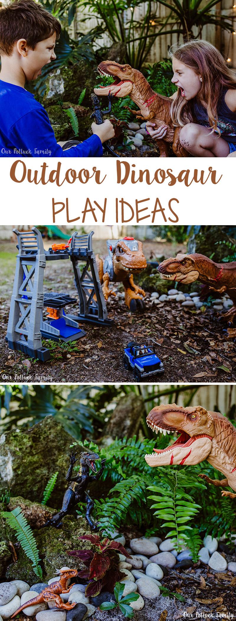 Outdoor Dinosaur Play Ideas