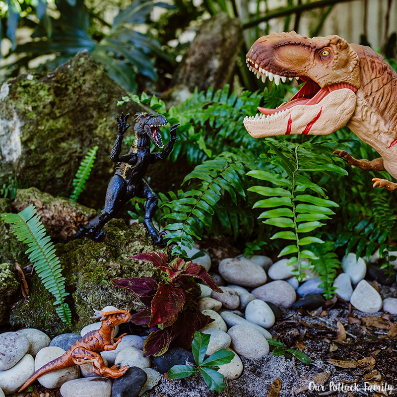Outdoor Dinosaur Play Instagram
