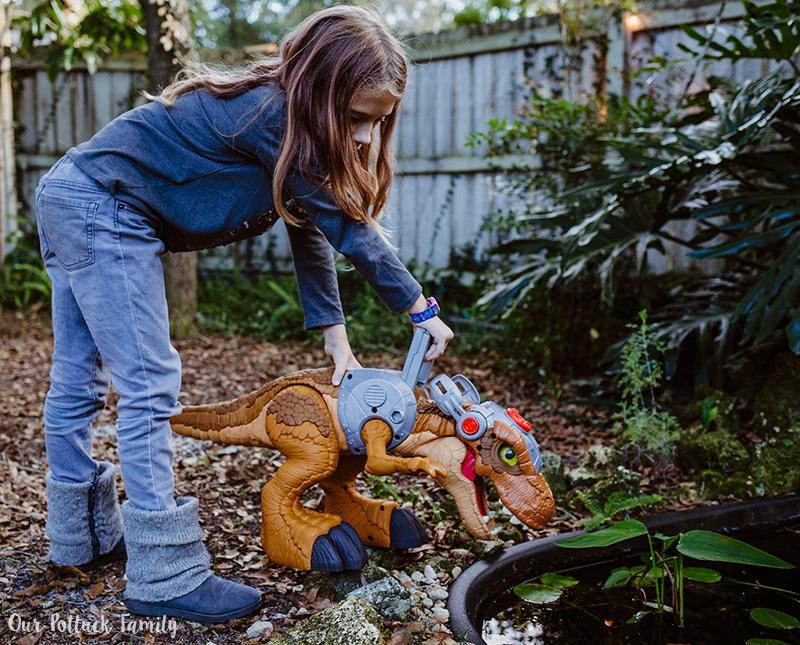 Outdoor Dinosaur Play drink