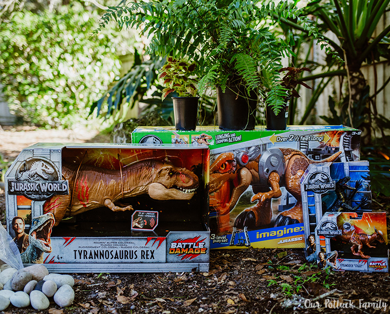Outdoor Dinosaur Play toys