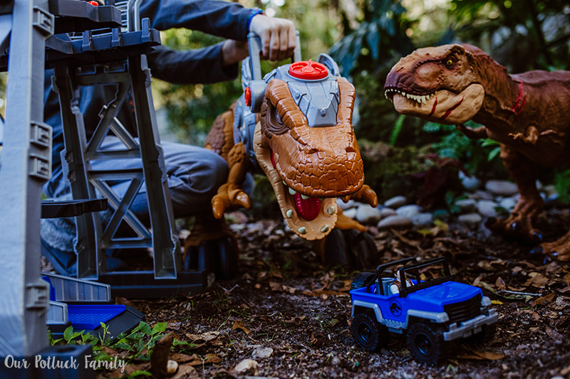 Outdoor Dinosaur Play truck