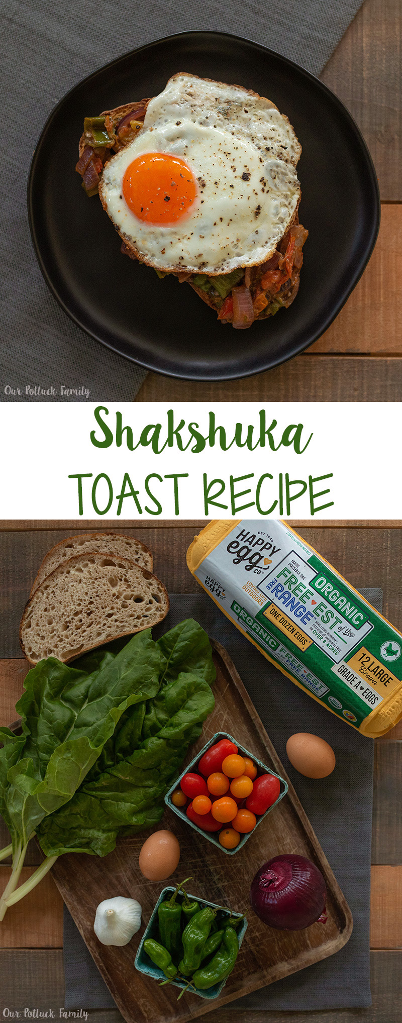 Shakshuka Toast Recipe