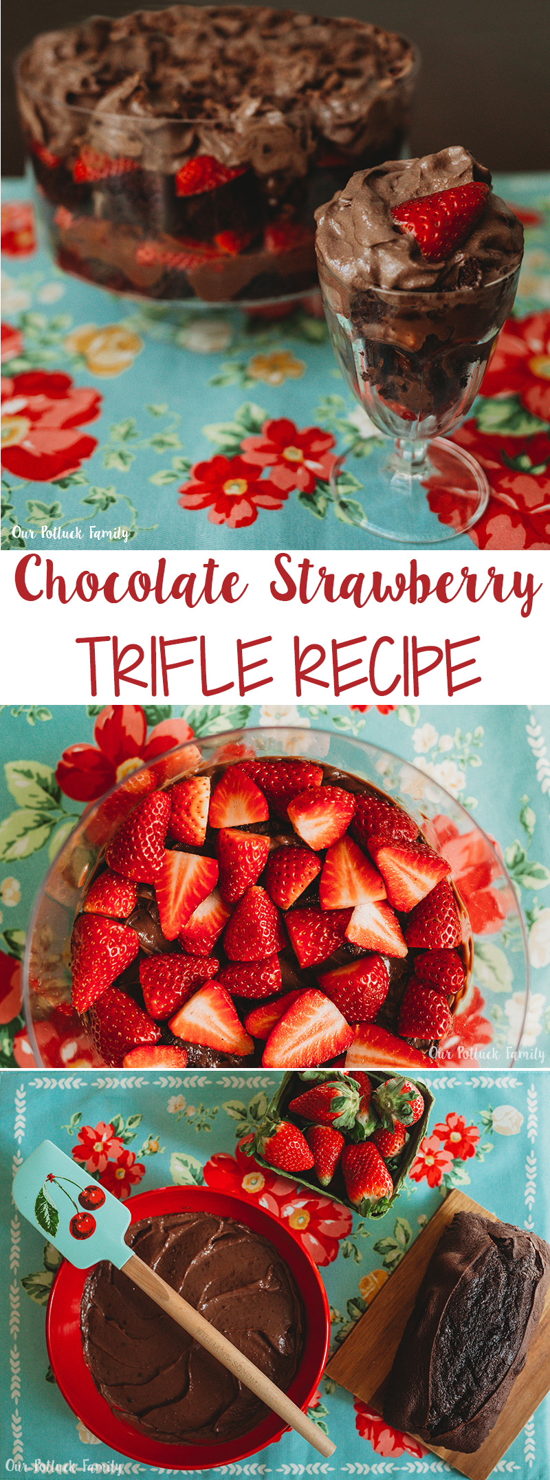 Chocolate Strawberry Trifle Recipe