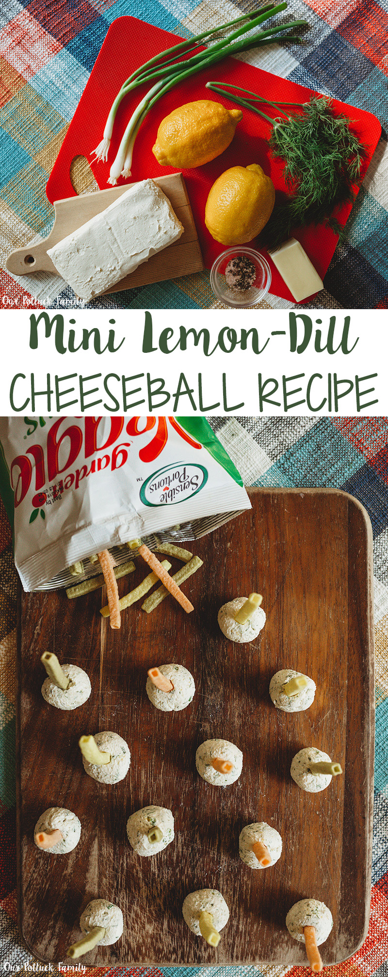 Mini Lemon Dill Cheeseball Recipe
