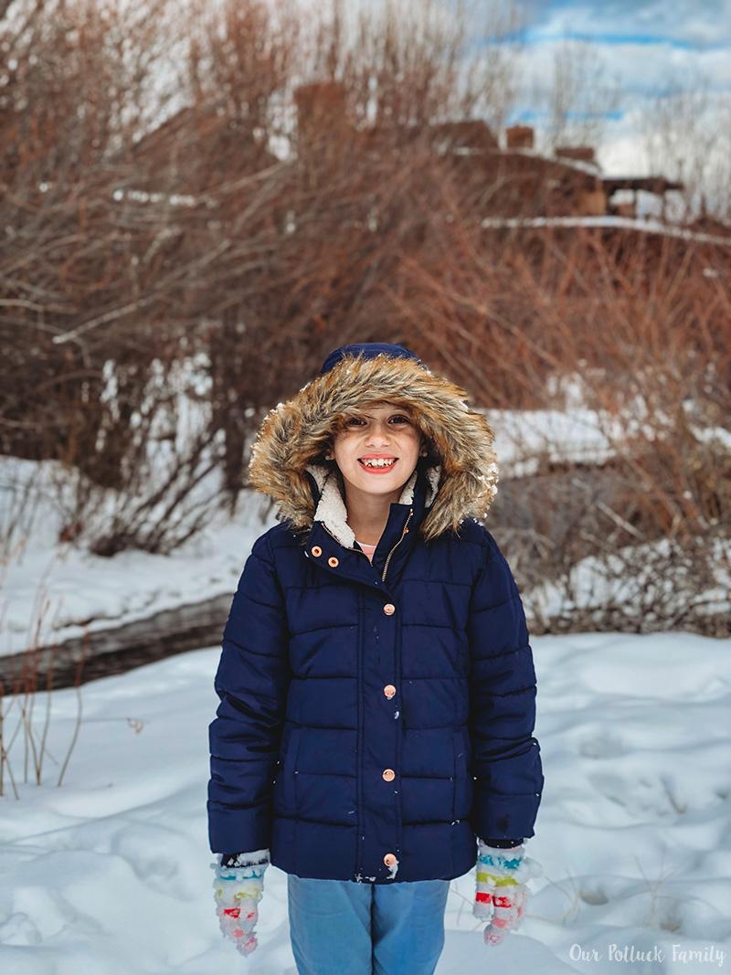 Park City Snow Girl