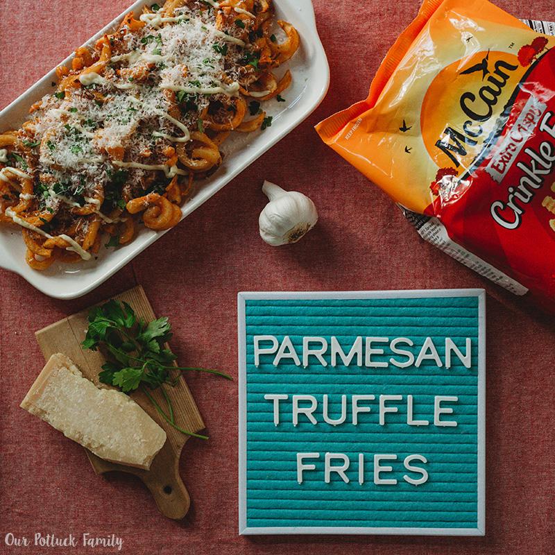 Parmesan Truffle Fries IG