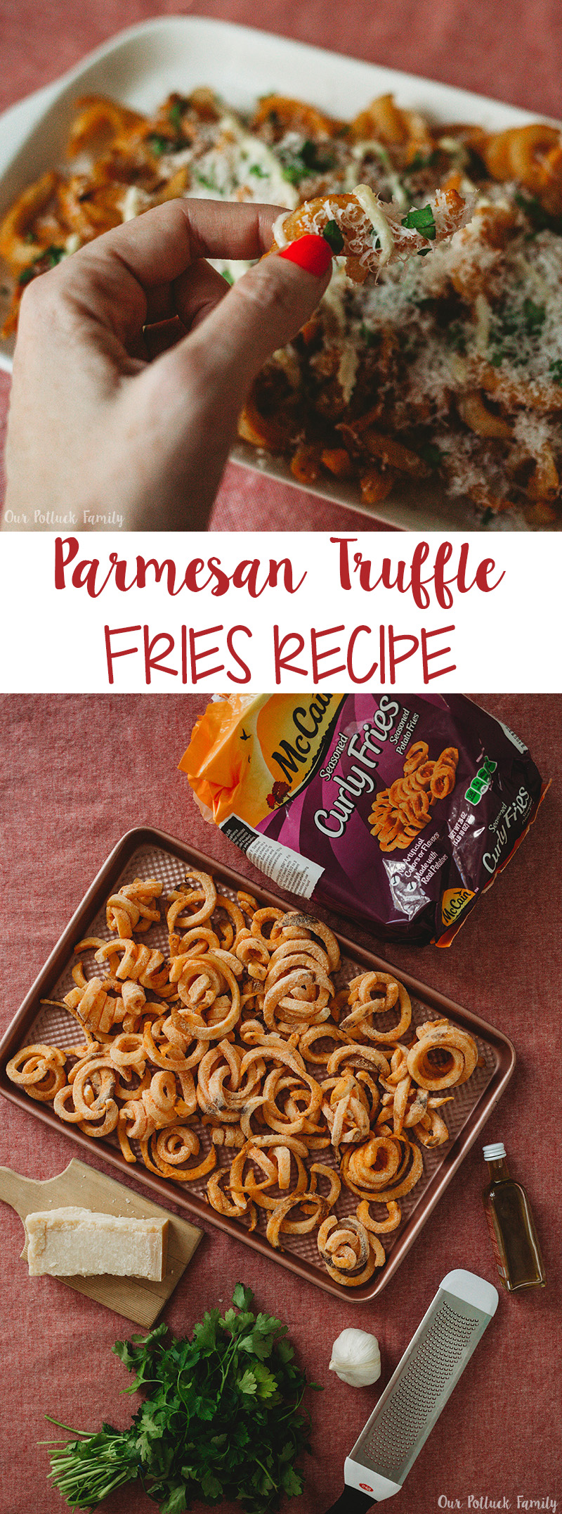 Parmesan Truffle Fries Recipe