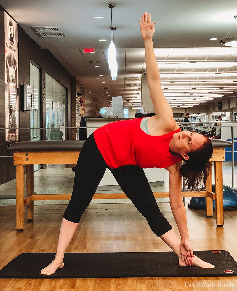 Yoga Poses Triangle