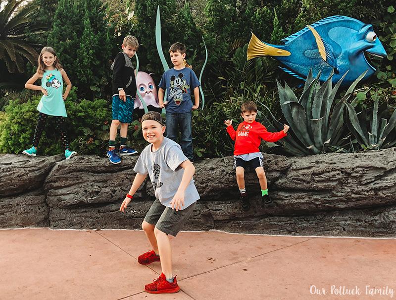 Disney Parks Birthday Vacation Nemo