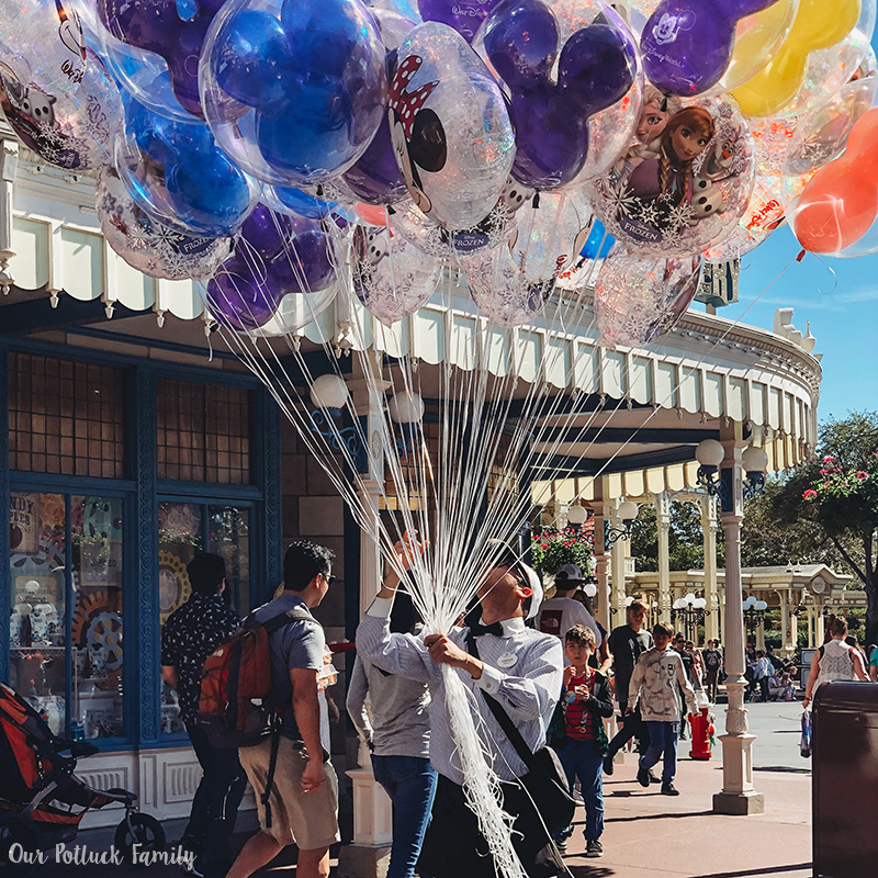 Disney Parks Birthday Vacation balloons