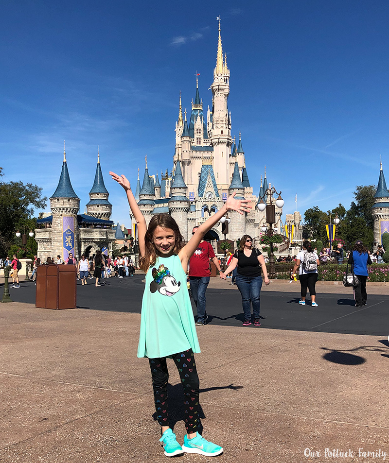 Disney Parks Birthday Vacation girl
