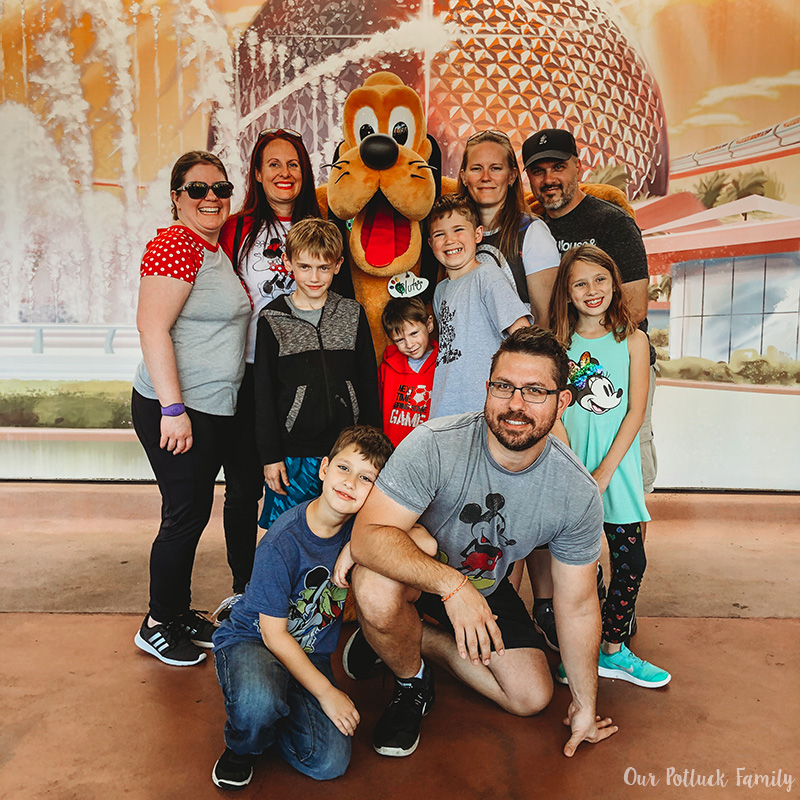 Disney Parks Birthday Vacation group
