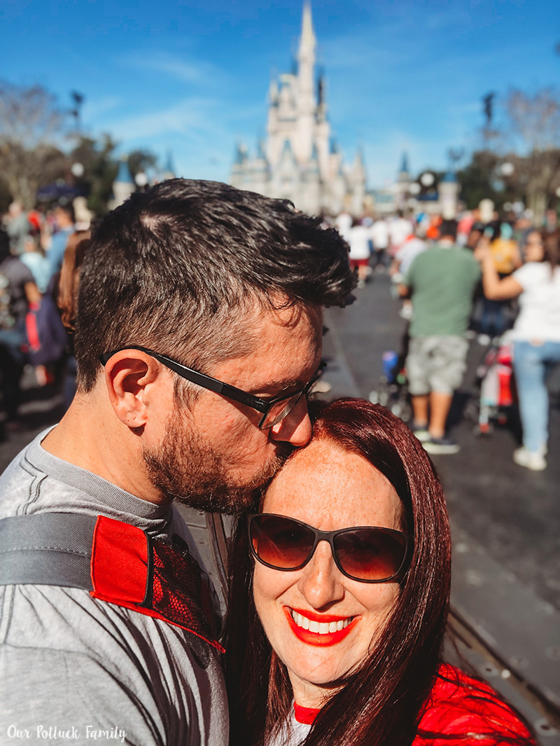Disney Parks Birthday Vacation kiss