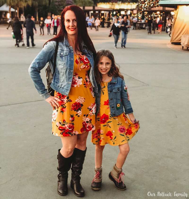 Disney Parks Birthday Vacation mom daughter