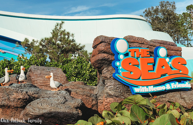 Disney Parks Birthday Vacation seas