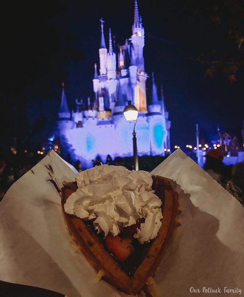 Disney Parks Birthday Vacation waffle