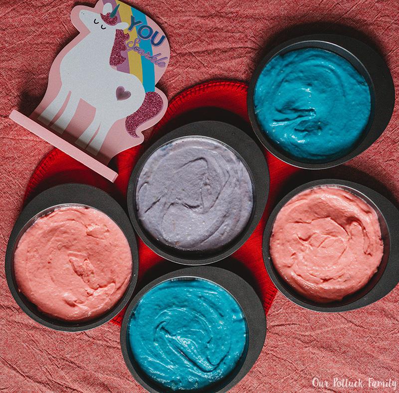 Easy Unicorn Rainbow Cake ready