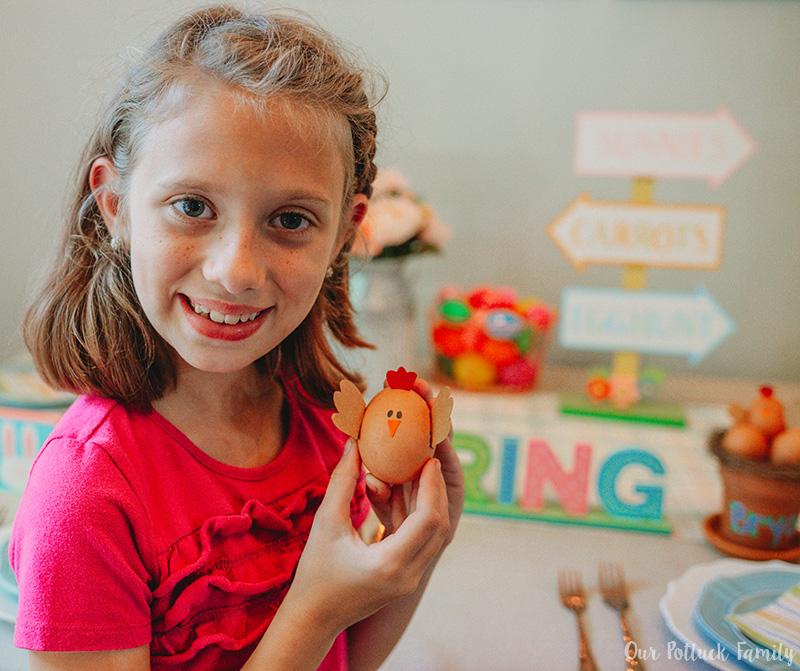 Chicken Nest Easter Egg Craft gift