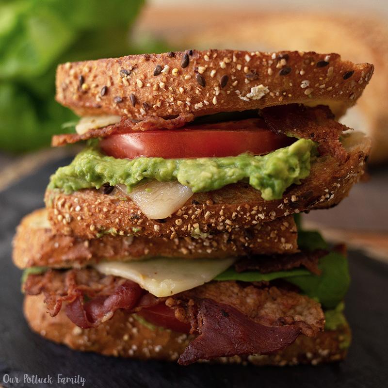LGBTQ Sandwich cut