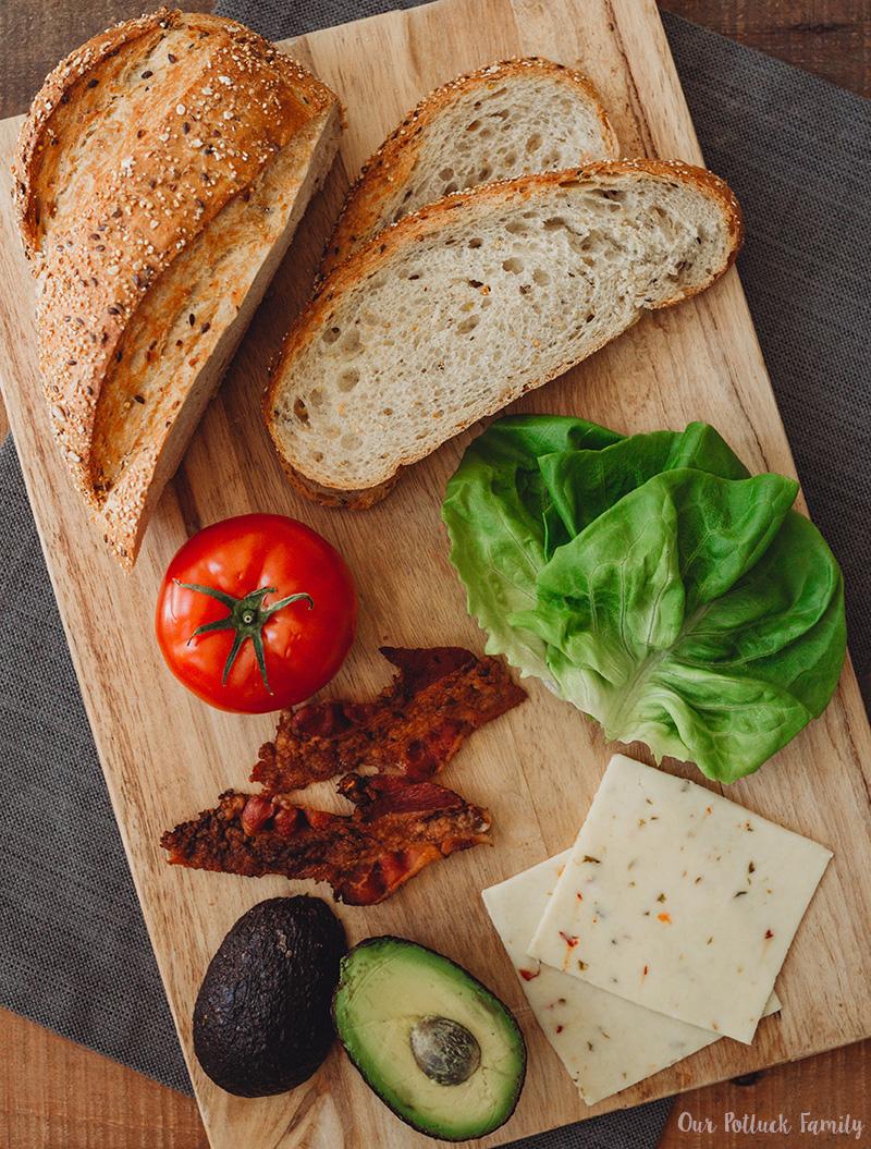 LGBTQ Sandwich ingredients