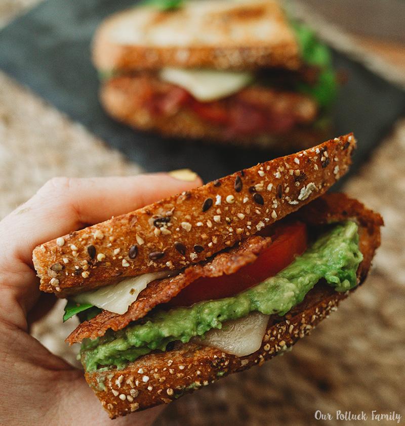 LGBTQ sandwich eat