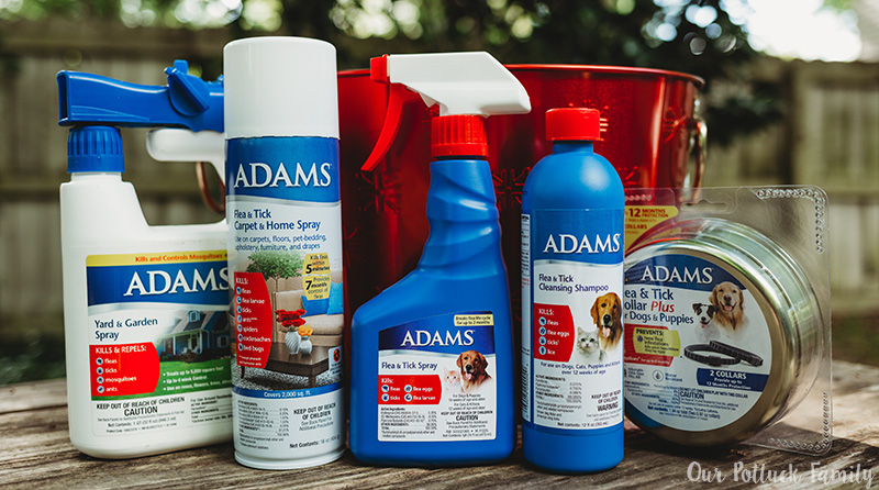 Protect Your Pets Adams products