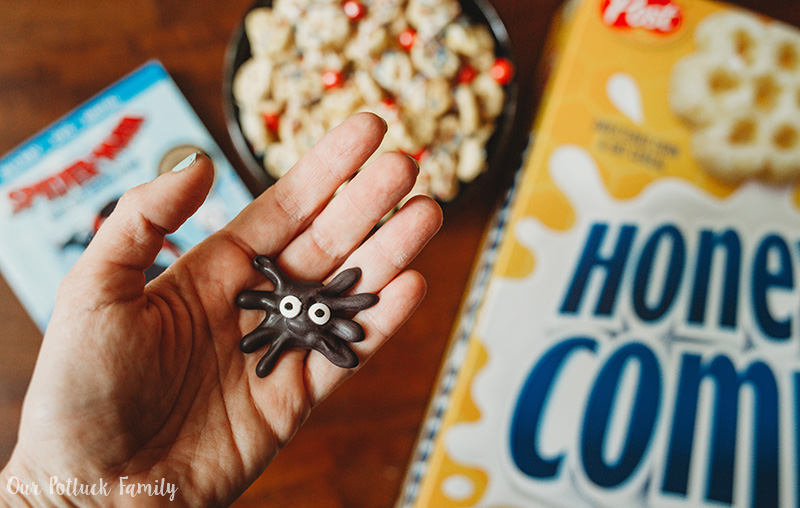 Spider-Man Movie Snack spider
