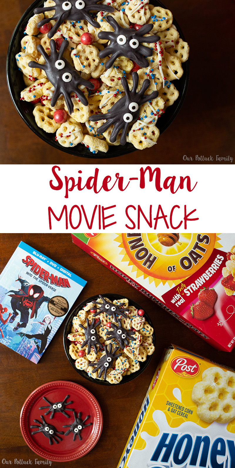 Spider-Man Movie Snacks