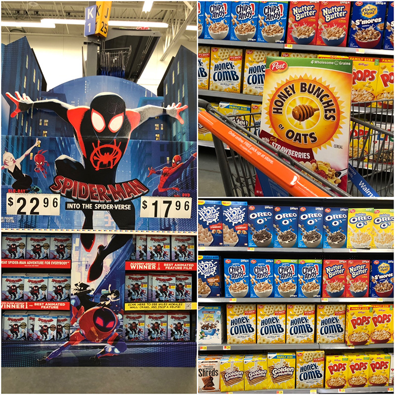 Spider-Man at Walmart