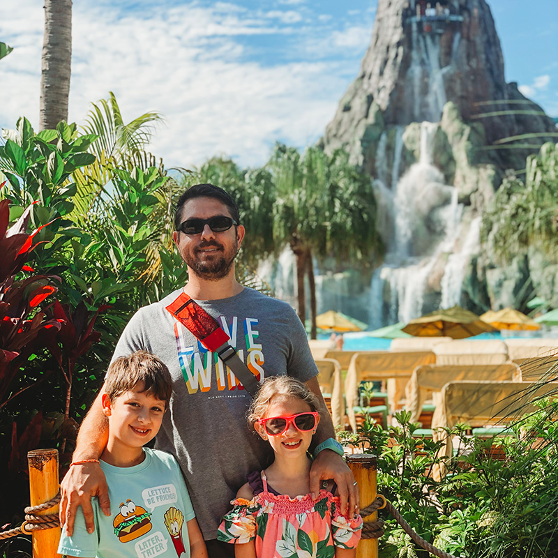 Universal Studios Cabana Bay Beach Resort Volcano Bay