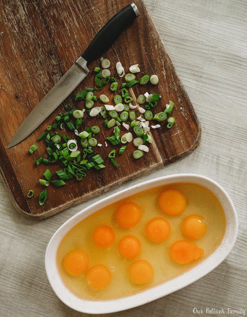 Easter Brunch Casserole eggs