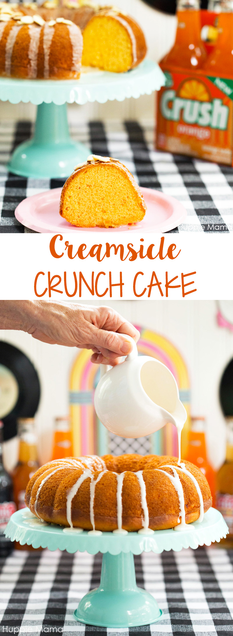 Creamsicle Crunch Cake recipe