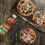 Grilled Vegetable Tostada Recipe