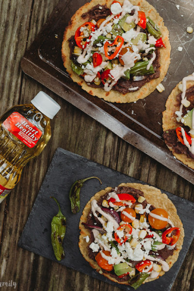 Grilled Vegetable Tostada Instagram